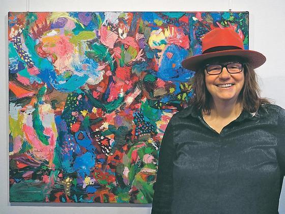 Eine farbenprächtige Ausstellung zeigt Carla Chlebarov ab Freitag, 4. September in der Galerie Plattform 3/3.