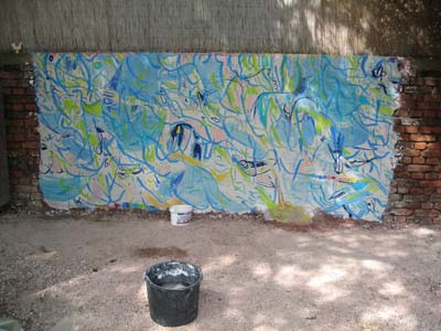 Pigmentfarbe, 1. Aktion, 2007