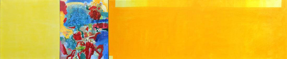 """Light-Lounge"", 50 x 240 cm, Mischtechnik, 2013"