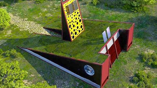 """casa-giardino """"Green Box"""" di Luis de Garrido"""
