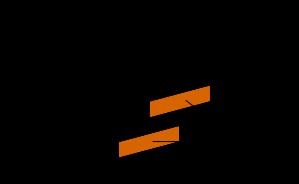 mattoni disposti a croce - alle estremità sono disposti alternativamente mattoni 3/4 e mezzo lungo