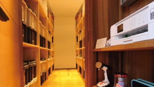 専用ロッカーのあるタイムシェア別荘のプルミエデュオ旧軽井沢倶楽部