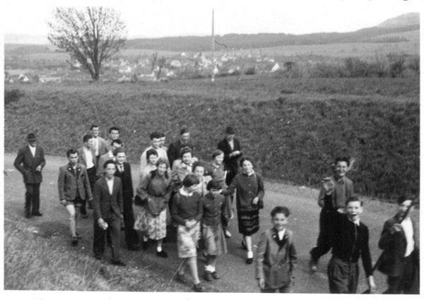 Gauwanderung 1955 Klippeneck