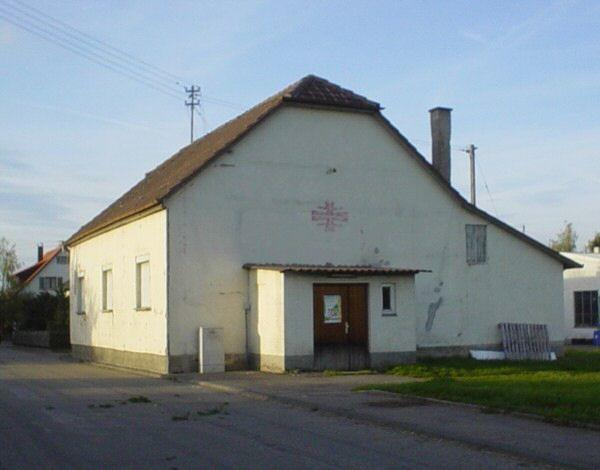 Vereinsheim (vor der Renovierung)