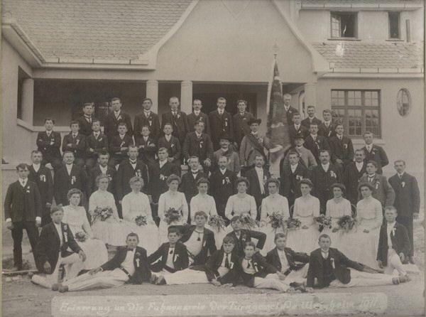 Fahnenweihe 1911