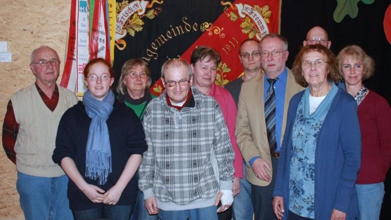 Vorstand und Ausschuss 2012