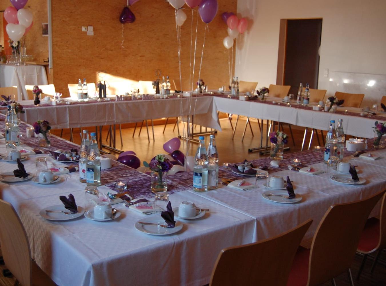 Beispiel Bestuhlung Hochzeit 2