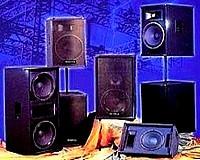 Enceintes de sonorisation extérieurs