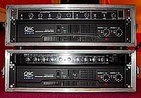 Rack amplification QSC