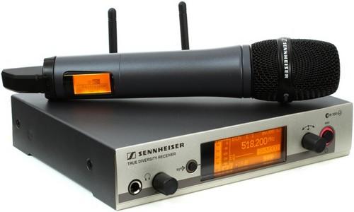 Micro HF Sennheiser en location