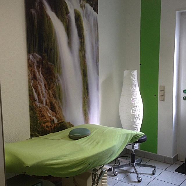 Behandlungsraum Magnetfeldtherapie