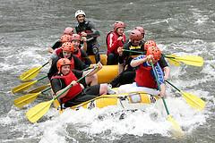 rafting eau vive