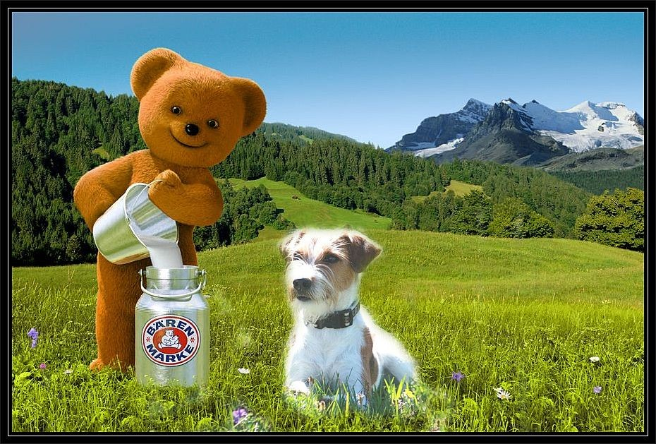 """""""................. nichts geht über Bärenmarke.....""""  hihi , oder wie war das nochmal??? ;-)"""