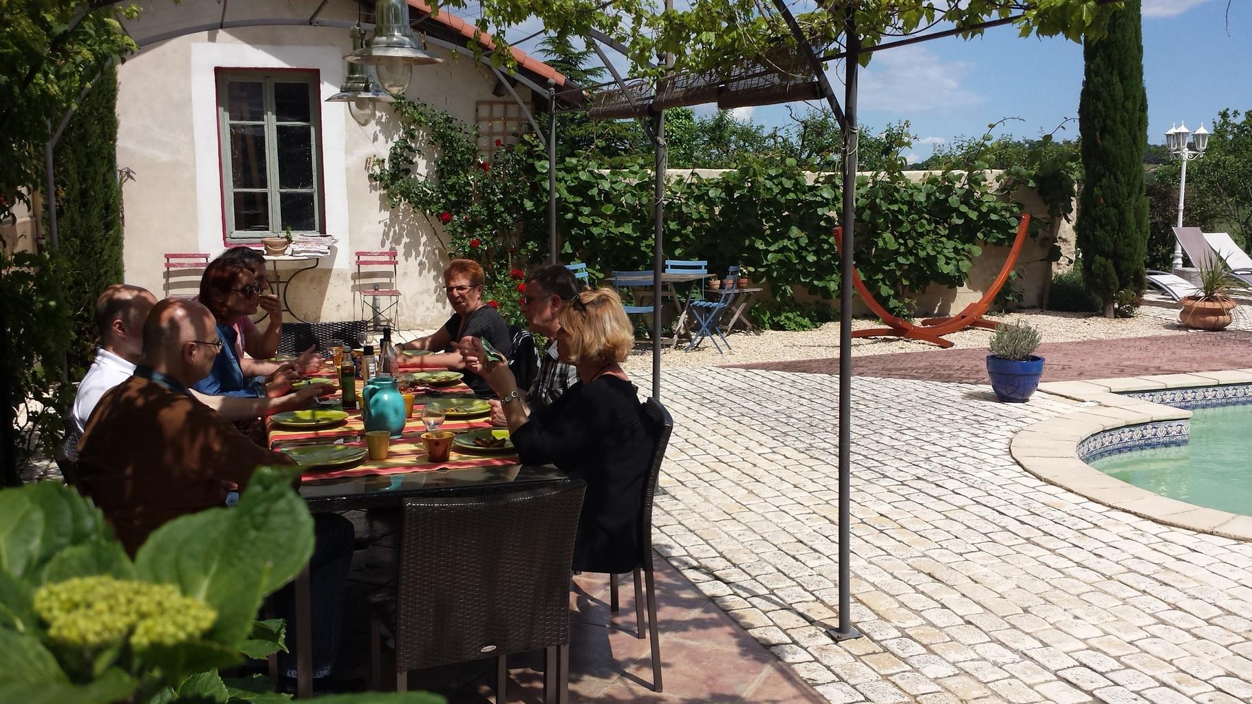 Repas de midi sur place