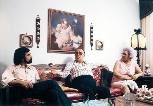 "Martin, Charles e Catherine Scorsese in ""Italianamerican"""