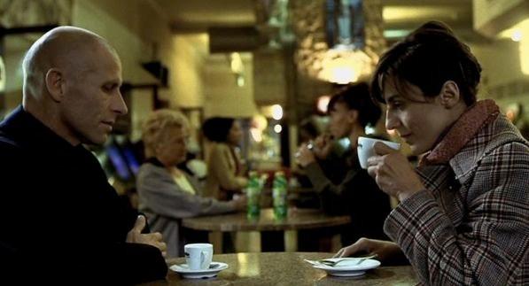 """Vittorio e Sonia in """"Primo amore"""" di Matteo Garrone"""
