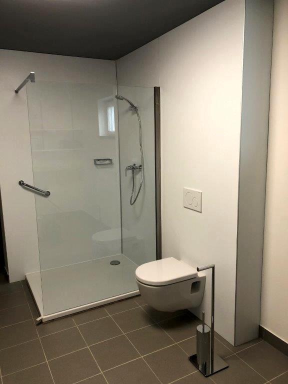 Neue Sanitäranlagen für Saunabereich