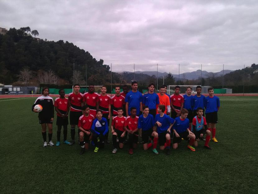 Minimes Excellence des collèges Antoine Risso  et les Campelieres  terminant respectivement second et champion départemental.