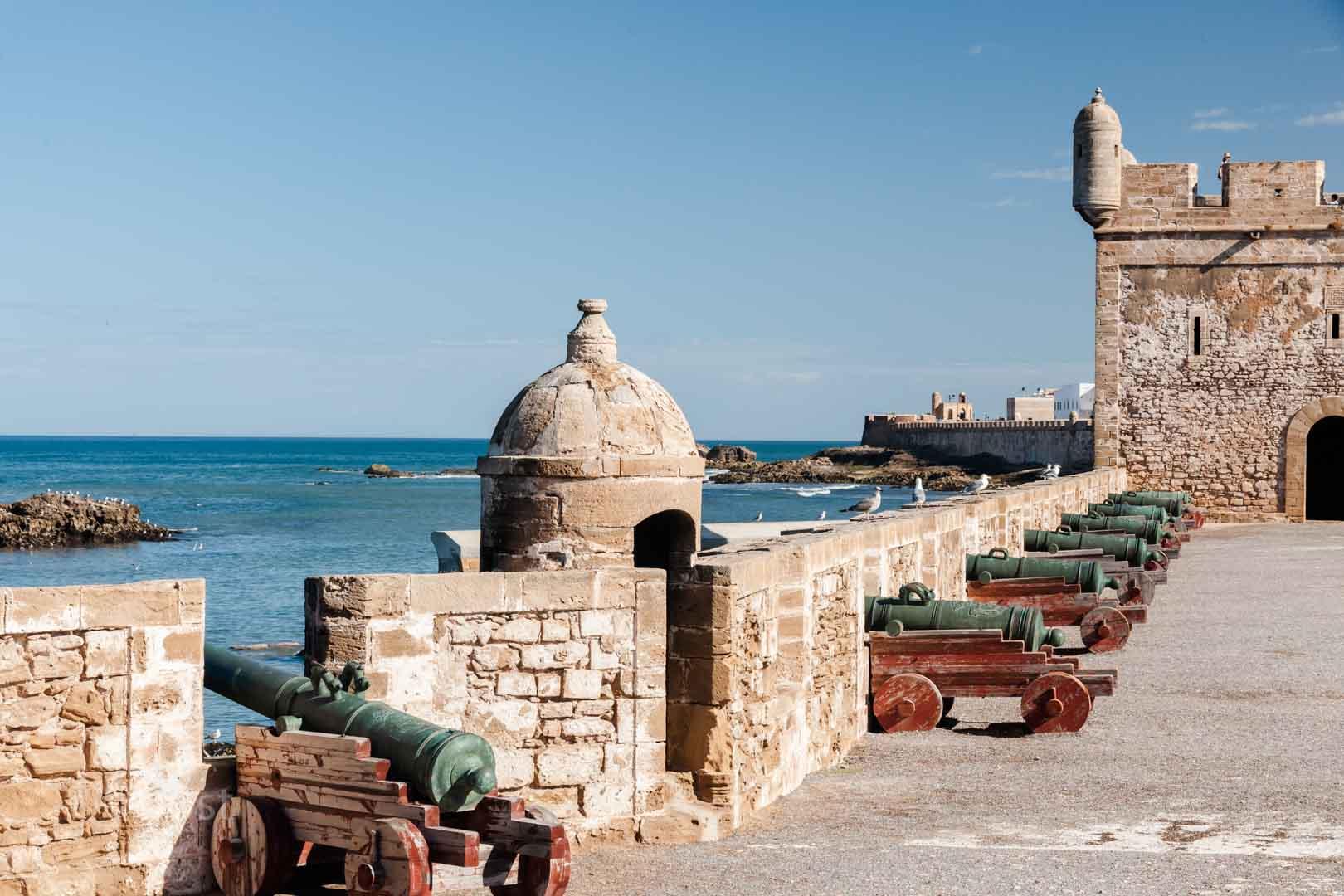 Essaouira - Hafenbefestigung
