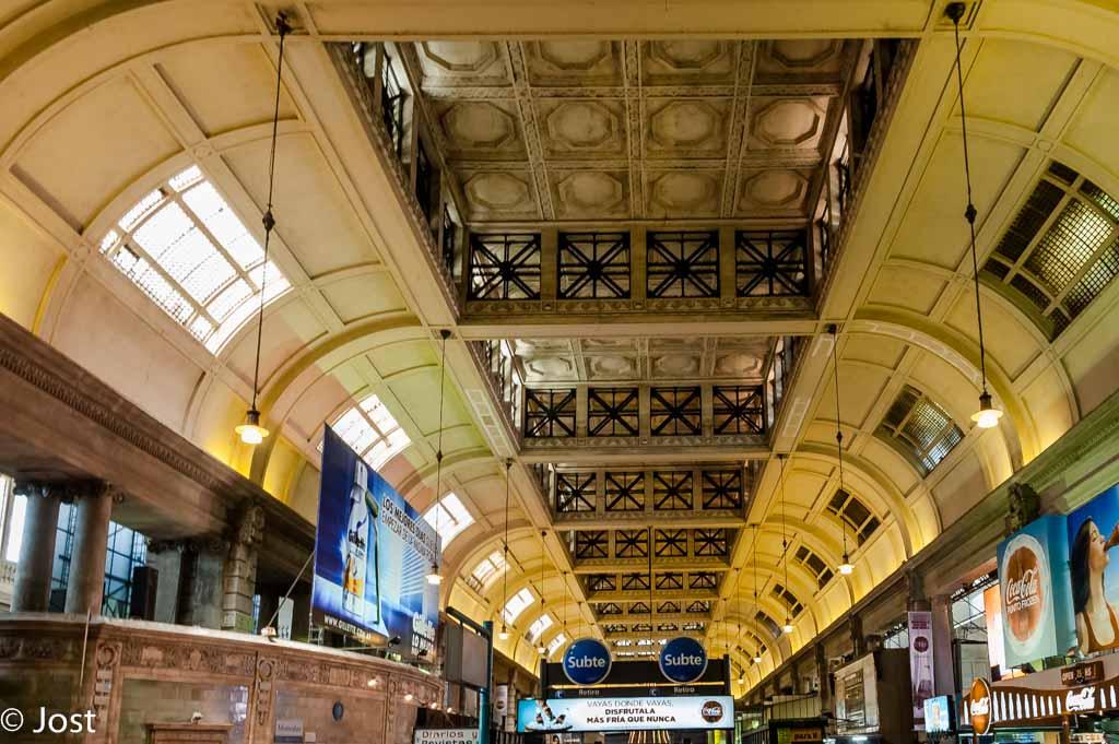 Buenos Aires Bahnhof