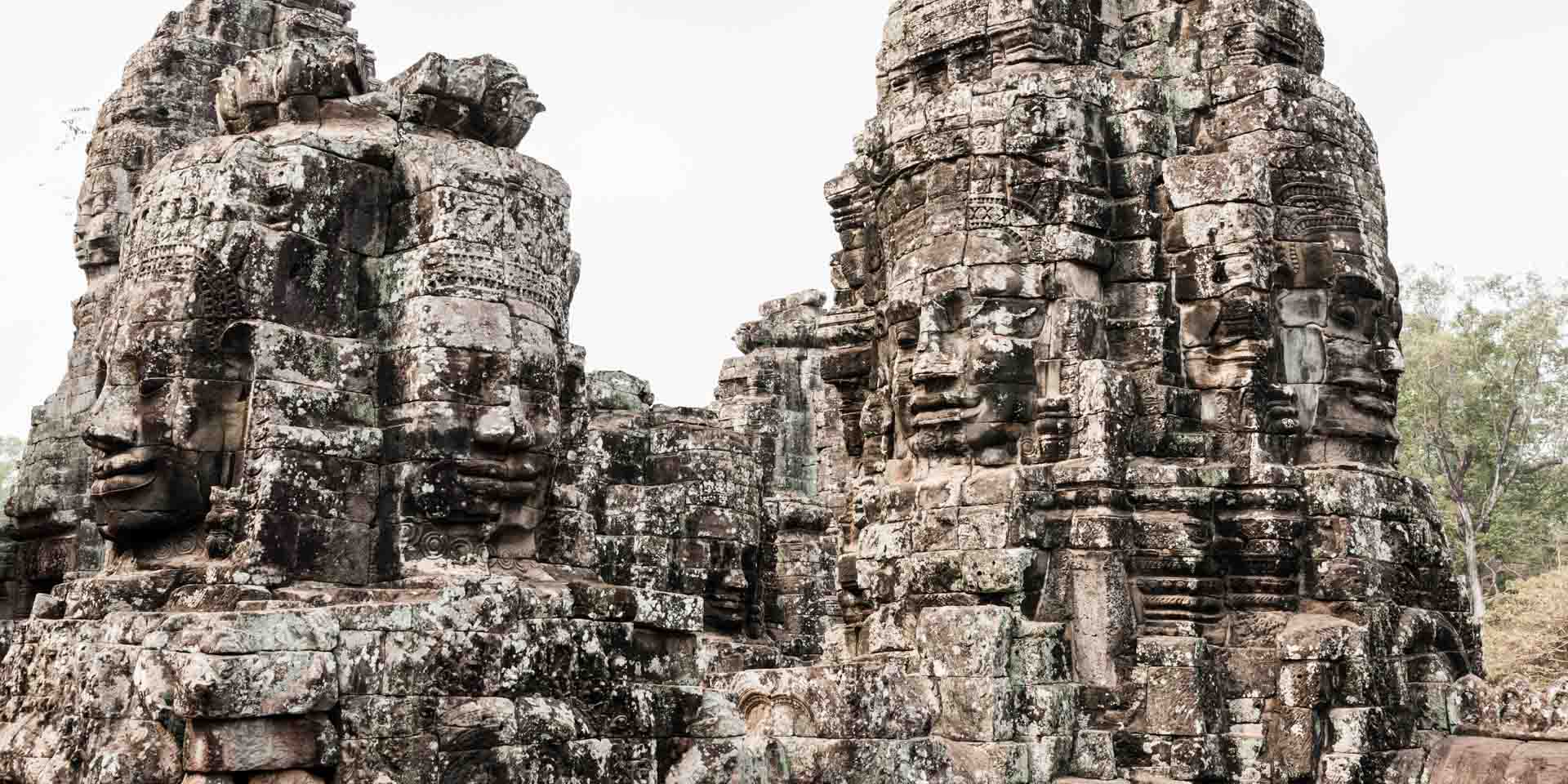 Faces of Cambodia - Angkor Thom
