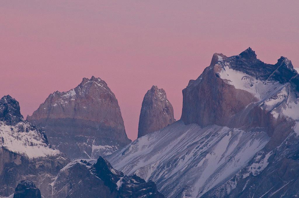 Sonnenaufgang im Paine Nationalpark - Patagonien