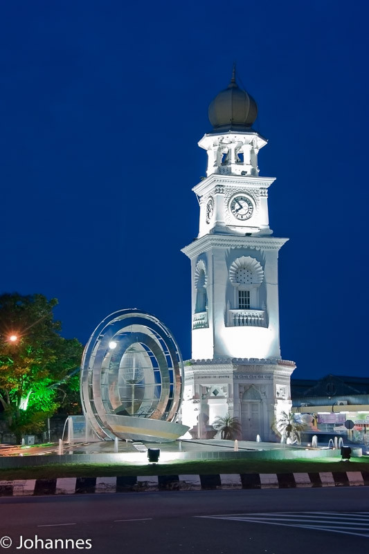 Queen Viktoria Memorial Clock Tower