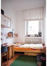 Gefris erste Bleibe: Seine Stube in Wohnzimmer 3
