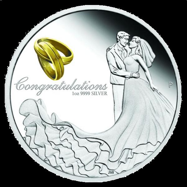 Hochzeitsmünze