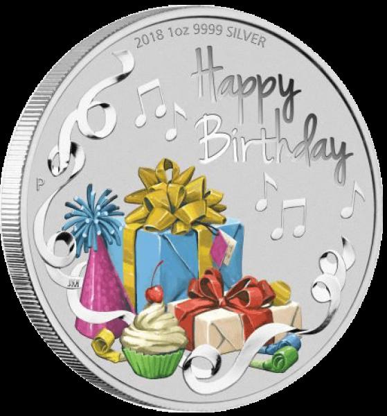 Geburtstagsmünze