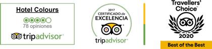certificado de excelencia hotel en Cali