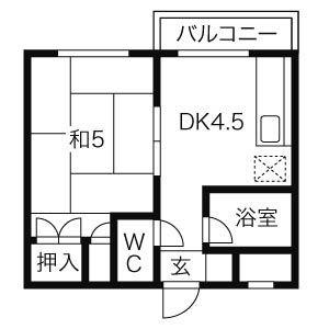 ≫札幌市北区北11条西3-2-1(クラークハイツ