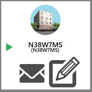 新築)北38西7MS  (N38W7MS)  〒001-0038 北海道札幌市北区北38条西7丁目3-11