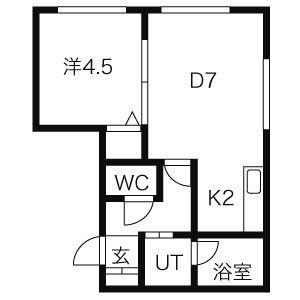≫札幌市北区北21条西2-1-8(シャトーN21