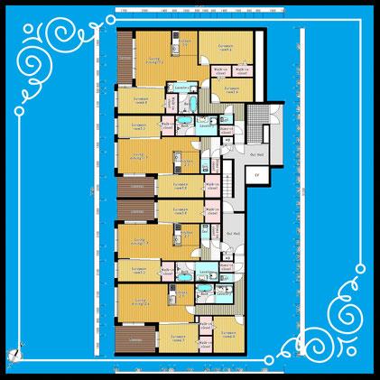 〒001-0022 北海道札幌市北区北22条西9目3-18レジデンスパーク札幌北-ResidenceParkSapporoKita