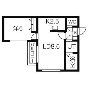 ≫札幌市北区北21条西6-1-3(エスポワール216