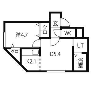 ≫札幌市北区北11条西4-1-1(ブランノワール北大前
