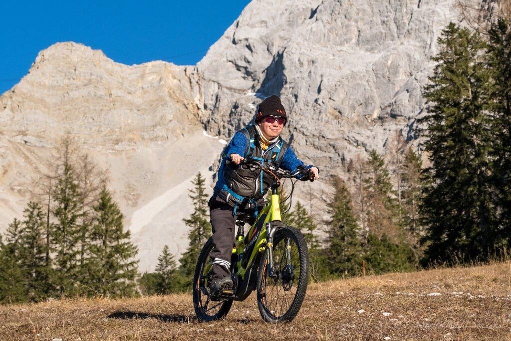 kleine Fahrradtour am Wetterstein