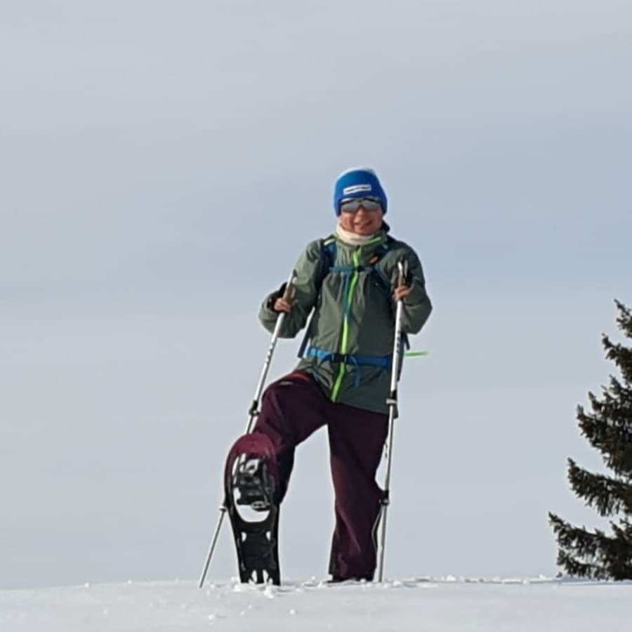 """Schneeschuh Tour in """"Warth"""""""