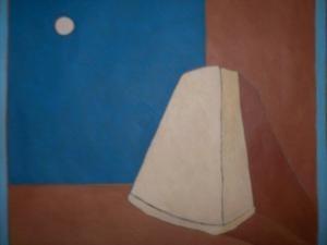 Formaggio Grana - olio su tela - 36x36 - 2009