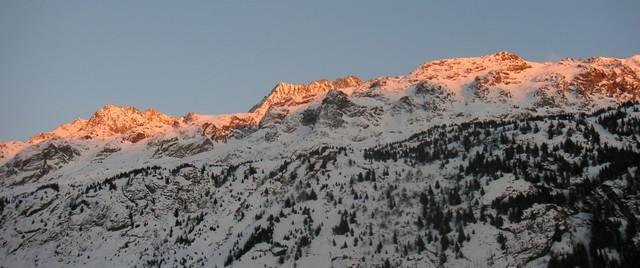 Massif des Grandes Rousses, Le Pic de l'Etendart, Le glacier des Grandes Rousses.