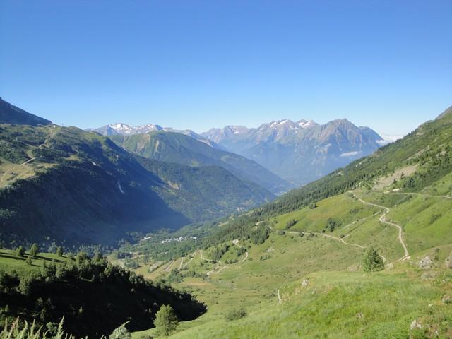 La vallée de Vaujany, les alpages.