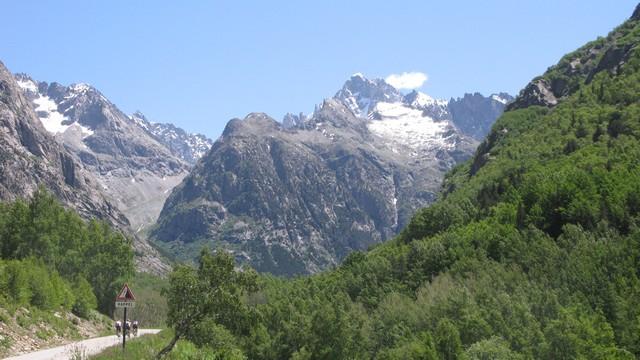 Le Parc National des Ecrins.