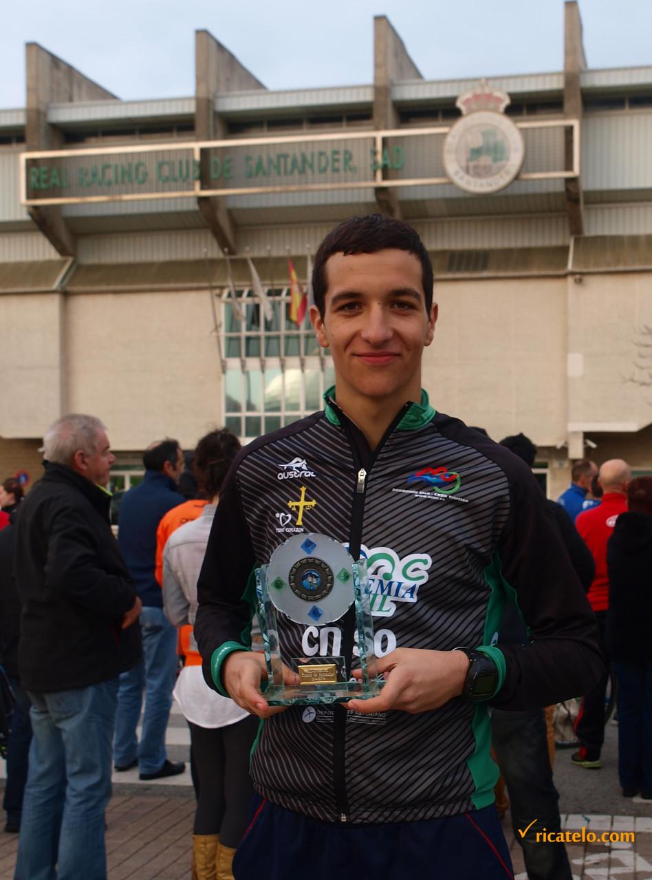 1º clasificado categoría Junior masculino