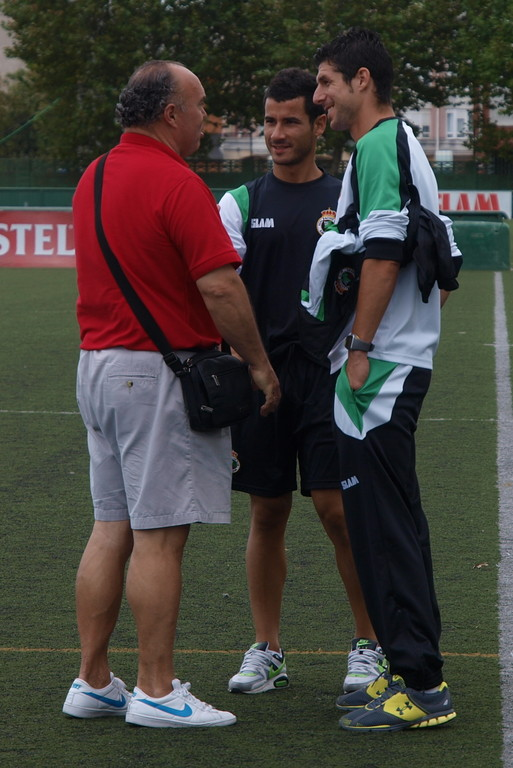 Alfredo, Moratón y Eduardo Escalada