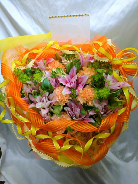 母の日フラワーアレンジ