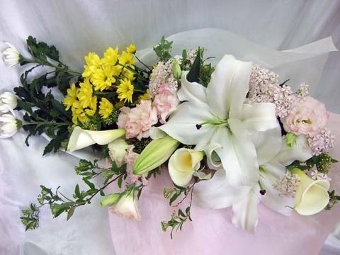 供花花束&仏花