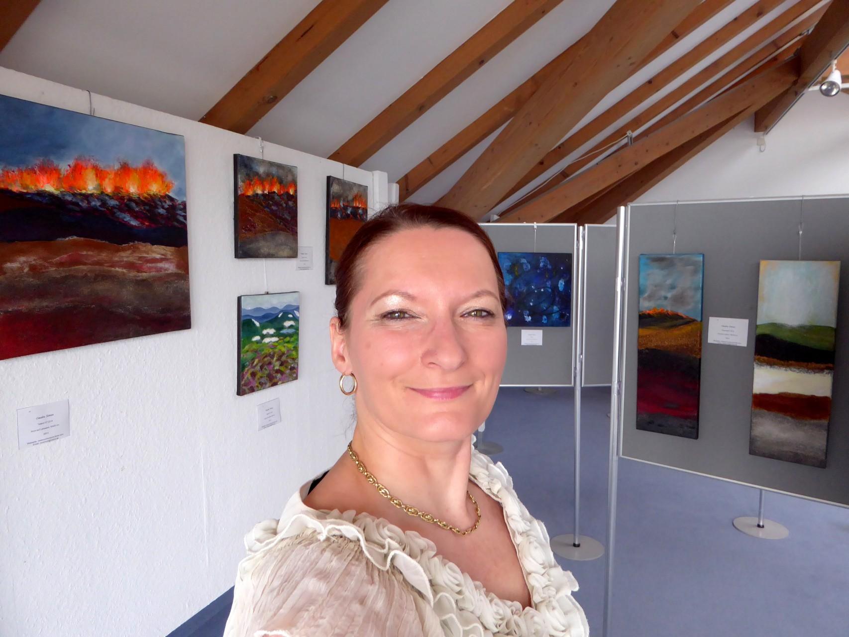 """Farbenfrohe """"Islandbilder"""", Vukanausbrüche und Geysire"""
