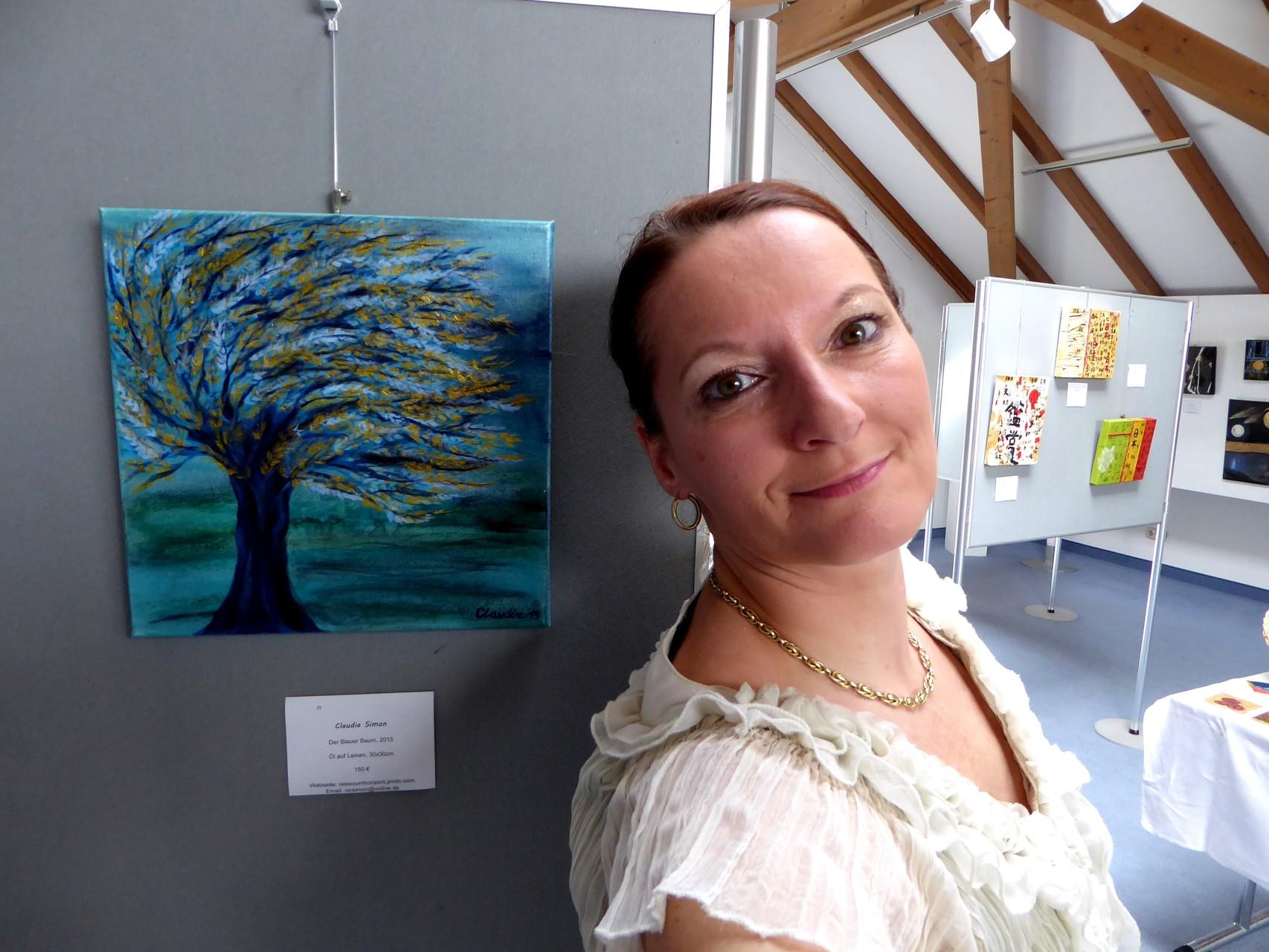 """Eines meiner Lieblingsbilder """"Der Blaue Baum"""""""