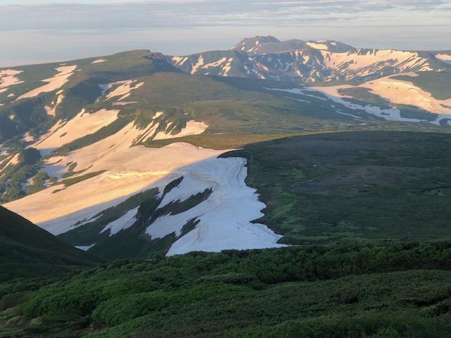 初夏の大雪山